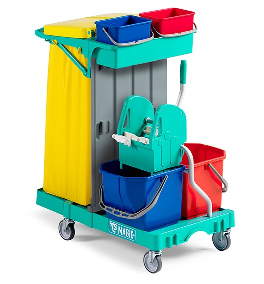carrello imprese di pulizia