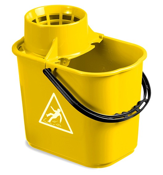 secchio giallo